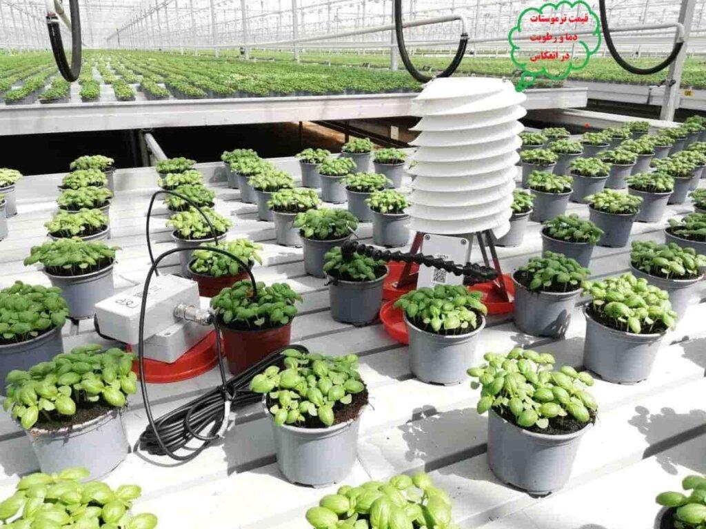 کنترل دما و رطوبت گلخانه-کنترلر دما و رطوبت-سنسور دما و رطوبت گلخانه-قیمت ترموستات دما و رطوبت-سنسور کنترل رطوبت گلخانه-