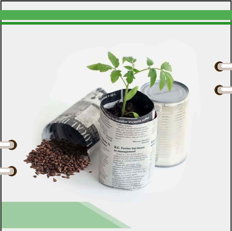 بنر اول صفحه اصلی قسمت نهال و نشال و بذر