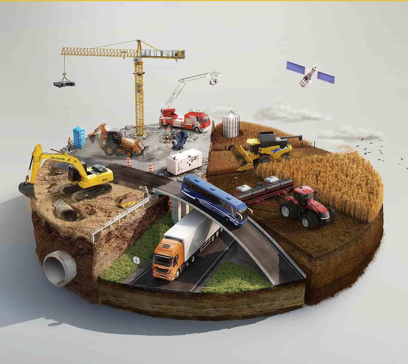 ماشین الات سنگین کشاورزی